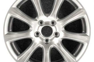"CCI® - 18"" Remanufactured 9-Spoke Chrome Factory Alloy Wheel"