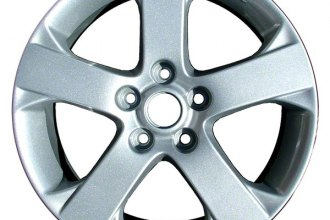 "CCI® ALY64881U20 - 17"" Remanufactured 5 Spokes Silver Factory Alloy Wheel"