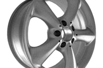"CCI® ALY65288U20 - 17"" Remanufactured Front 5 Spokes Sparkle Silver Factory Alloy Wheel"