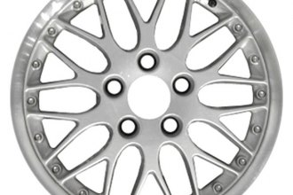 "CCI® - 17"" Remanufactured Forked-Spoke Silver with Machined Lip Factory Alloy Wheel"