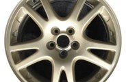 "CCI® - 17"" Remanufactured 10-Spoke Gold Factory Alloy Wheel"