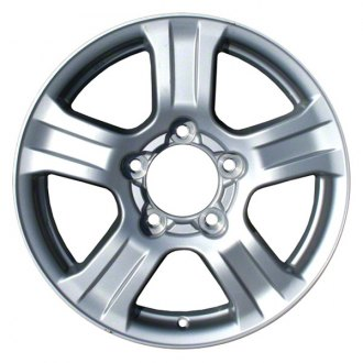 "CCI® ALY69517U20 - 18"" Remanufactured 5 Spokes Silver Factory Alloy Wheel"
