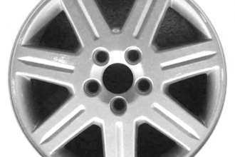 "CCI® ALY70284U20 - 16"" Remanufactured 7 Spokes All Painted Silver Factory Alloy Wheel"