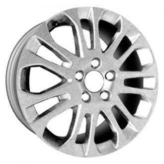 "CCI® - 17"" Remanufactured 14 Spokes All Painted Hyper Silver Factory Alloy Wheel"