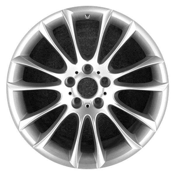 "CCI® - 19"" Remanufactured Front 7 V Spokes Dark PVD Chrome Factory Alloy Wheel"