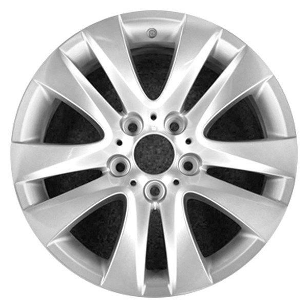 "CCI® - 17"" Remanufactured 10 Spokes All Painted Silver Metallic Factory Alloy Wheel"