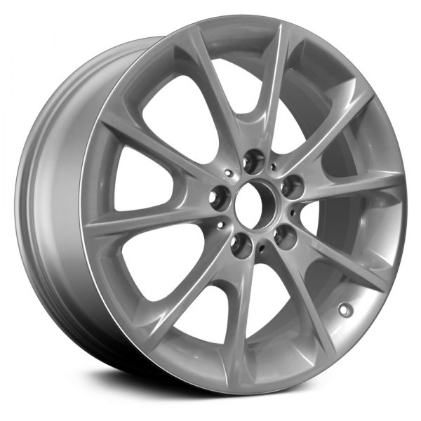 "CCI® - 18"" Remanufactured 10 Spokes All Painted Silver Factory Alloy Wheel"