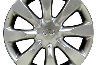 "CCI® ALY73686U78 - 18"" Remanufactured 8 Spokes Hyper Silver Factory Alloy Wheel"