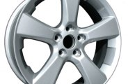 "CCI® - 18"" Remanufactured 5-Spoke Light PVD Chrome Factory Alloy Wheel"