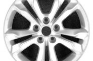 "CCI® - 17"" Remanufactured 10-Spoke Silver Factory Alloy Wheel"