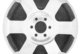 "CCI® - 20"" Remanufactured Front 6-Spoke Polished Factory Alloy Wheel"