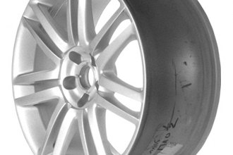 "CCI® - 19"" Remanufactured 7 Double Spokes All Painted Silver Metallic Factory Alloy Wheel"