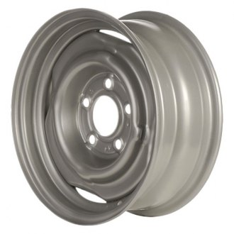 "CCI® - 15"" Remanufactured Silver Factory Steel Wheel"
