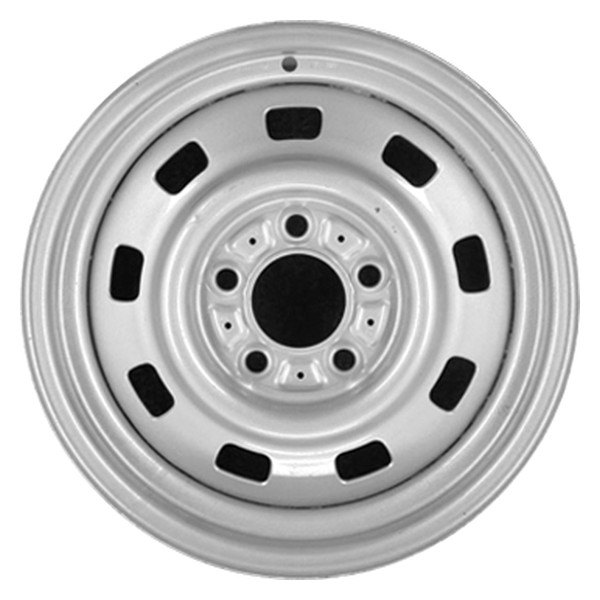 Remanufactured Silver Factory Steel Wheel