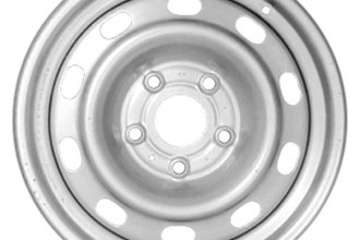 "CCI® - 17"" Remanufactured 10-Vent Factory Steel Wheel"