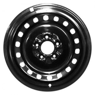 "CCI® - 16"" Remanufactured 18-Holes Black Factory Steel Wheel"