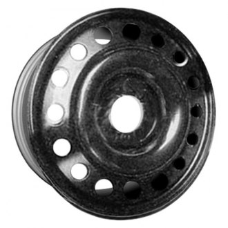 "CCI® - 17"" Remanufactured 16-Round-Holes Black Factory Steel Wheel"