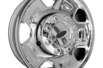 "CCI® - 18"" Remanufactured 5-Vent Chrome Factory Steel Wheel"