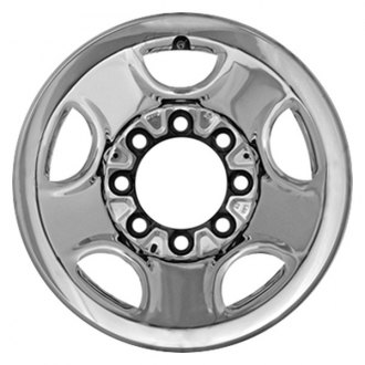 CCI® - 16'' Remanufactured 5-Holes Chrome Factory Steel Wheel