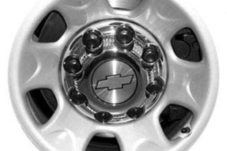 "CCI® - 16"" 6-Spoke Silver Factory Replica Steel Wheel"