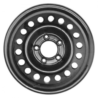 "CCI® - 15"" Remanufactured 15-Oval-Holes Black Factory Steel Wheel"