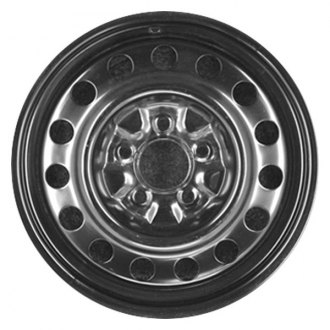 "CCI® - 16"" Remanufactured Black Factory Steel Wheel"