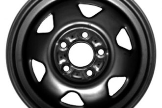 "CCI® - 15"" Remanufactured 6-Spoke Factory Steel Wheel"