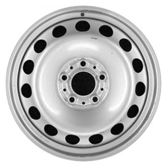 "CCI® - 15"" Remanufactured Black Factory Steel Wheel"