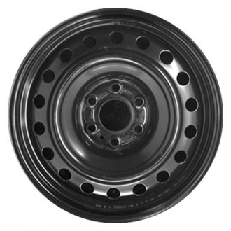 "CCI® - 17"" Remanufactured 18-Holes Black Factory Steel Wheel"