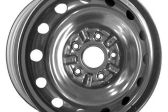 "CCI® - 15"" Remanufactured 14-Holes Silver Factory Steel Wheel"