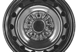"CCI® - 15"" Replica 14-Holes Silver Factory Replica Steel Wheel"