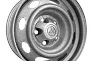 "CCI® - 15"" Remanufactured 8-Oval-Hole Silver Factory Steel Wheel"