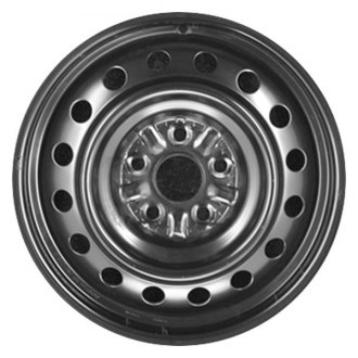 "CCI® - 16"" Remanufactured 16 Vents Black Factory Steel Wheel"