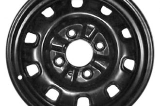 "CCI® - 14"" Remanufactured 10-Holes Black Factory Steel Wheel"