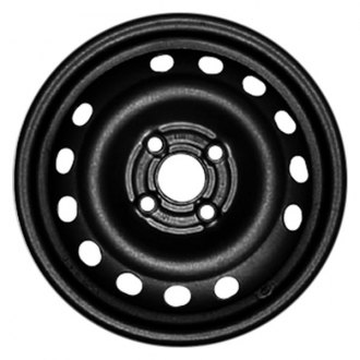 "CCI® - 14"" Remanufactured 15 Holes Black Factory Steel Wheel"