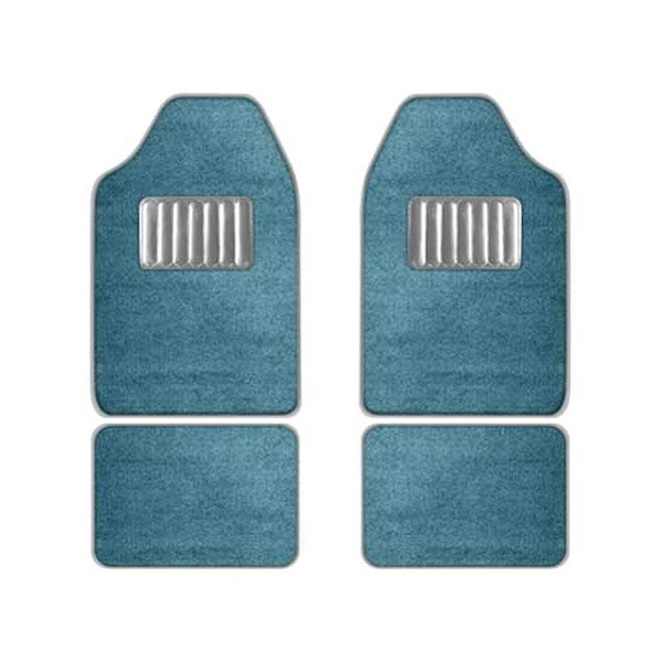 CCI® - Blue Floor Mat Set With Heel Pad