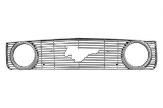 CCI® - Chrome Grille Overlay with Fog Lights