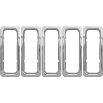 CCI® - 7-Pc Chrome Main Grille Skin