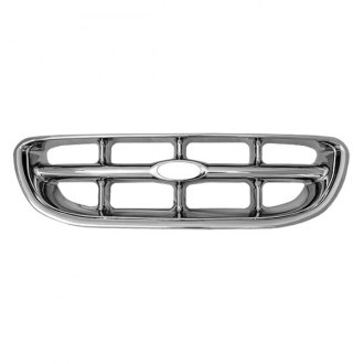 CCI® - 1-Pc Chrome Main Grille Skin