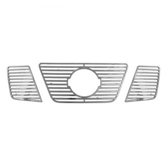 CCI® - 3-Pc Chrome Main Grille