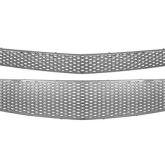 CCI® - 2-Pc Chrome Main Grille Skin