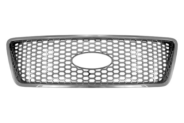 CCI® - Honeycomb Style Chrome Grille Skin