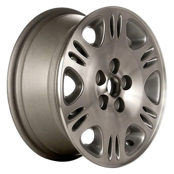 "CCI® - 14"" Remanufactured 6 Slots Argent Factory Alloy Wheel"