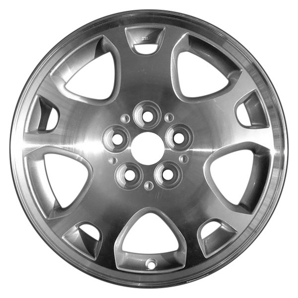 CCI® - 15 x 6 10-Spoke Silver Alloy Factory Wheel (Remanufactured)