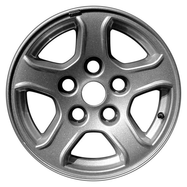CCI® - 16 x 8 5-Spoke Silver Alloy Factory Wheel (Remanufactured)