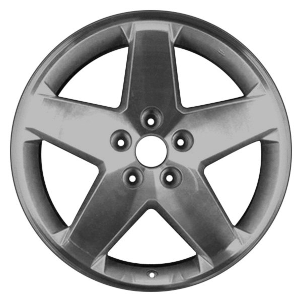 "CCI® - 18"" Remanufactured 5 Spokes Chrome Factory Alloy Wheel"