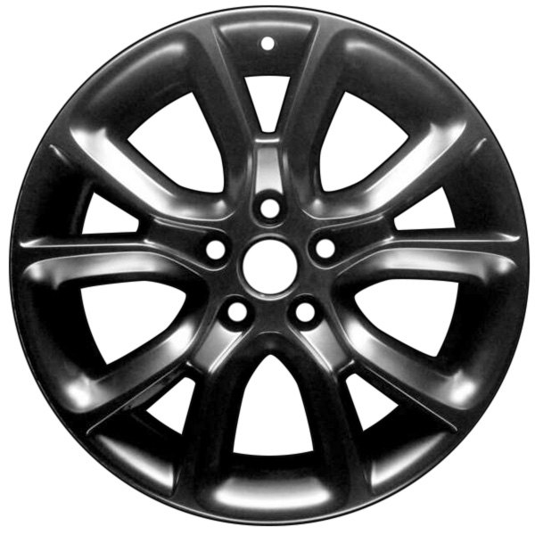 "CCI® - 18"" Remanufactured 10 Spokes All Painted Black Factory Alloy Wheel"
