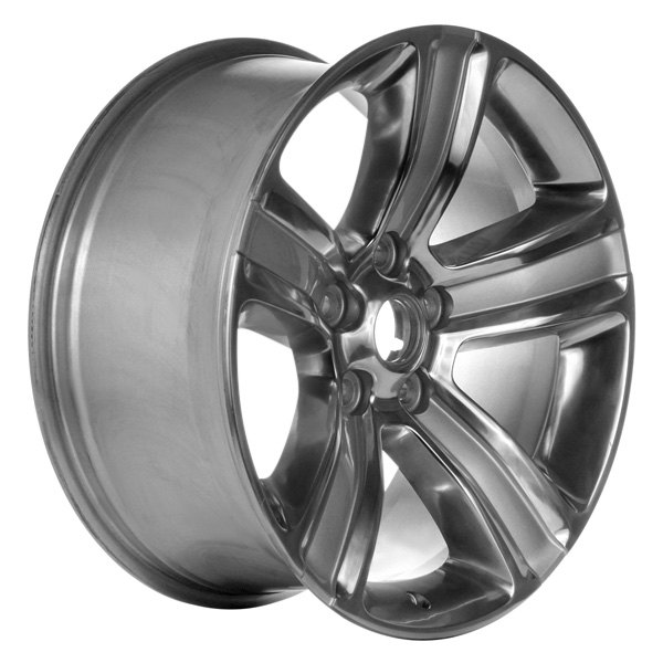 "CCI® - 20"" Remanufactured 5 Spokes Polished and Silver Factory Alloy Wheel"