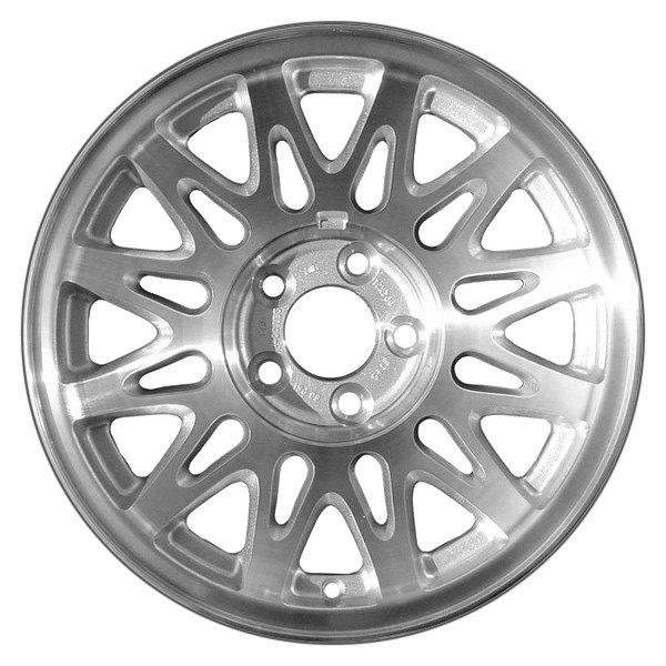CCI® - 16 x 7 Snowflake Design Silver Alloy Factory Wheel (Remanufactured)