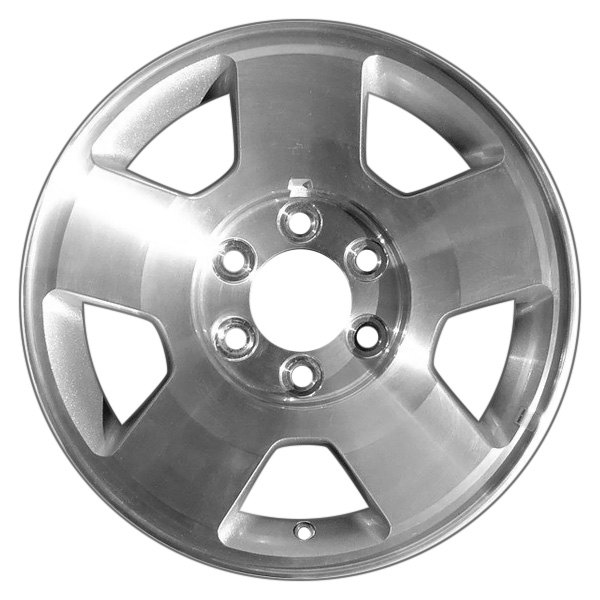 "CCI® - 17"" Remanufactured 5 Spokes Silver Factory Alloy Wheel"
